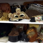 Vintage purses, jewellery, and more