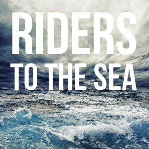 symbolism in j m synge s riders to the sea Synge's  riders to the sea: the colonial image refuted riders to the sea is a tragedy portraying the sort of poor irish peasant family which had previously supplied material for comedies on london stages.